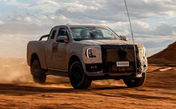 Next Generation Ford Ranger (2023)